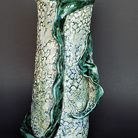 Dorsal Fin Vase by Susan James