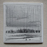Drawing Drizzle, Bobby's Field by Harry Stooshinoff