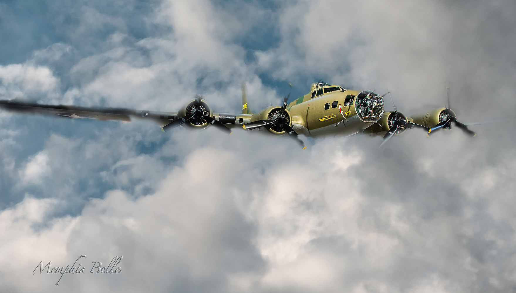 Memphis Belle by Andy Humphrey