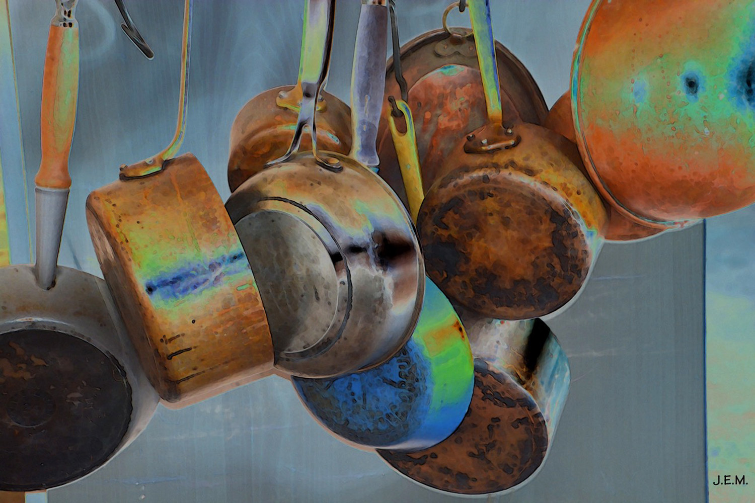 Print POTS AND PANS ~ Digital Playground by Joeann Edmonds-Matthew