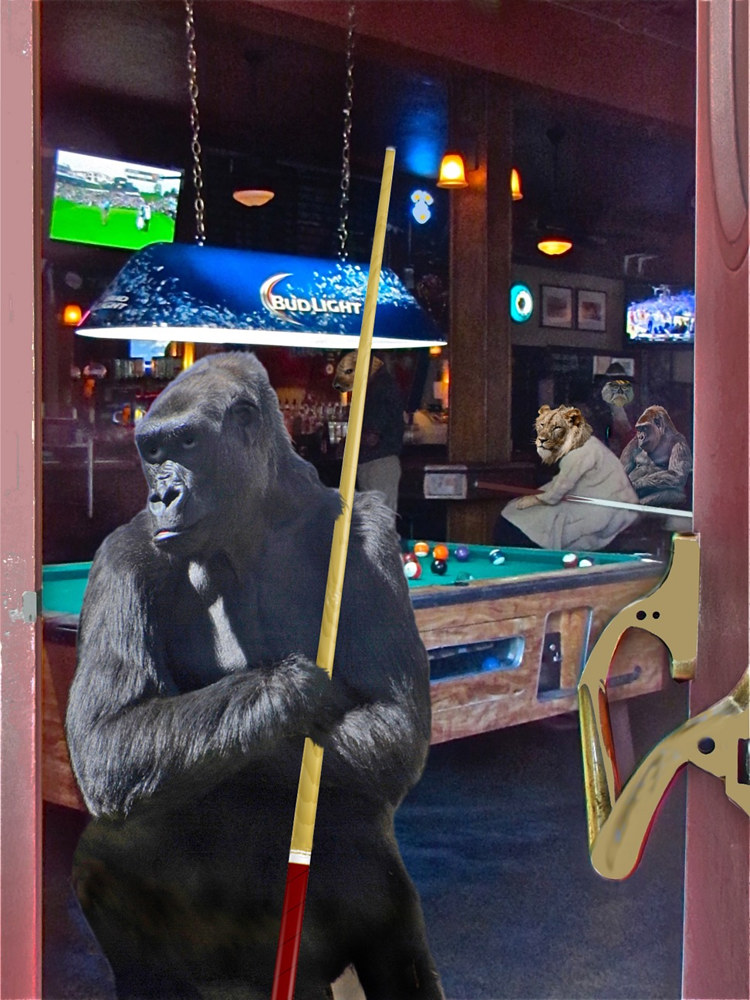 2 AM CLUB BILLIARDS by Joeann Edmonds-Matthew