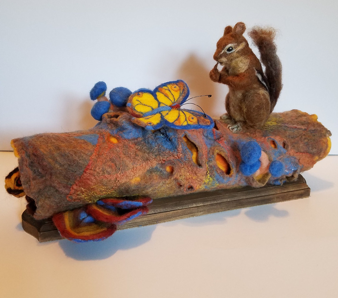 Sculpture Shhhh! babies are Sleeping by Valerie Johnson