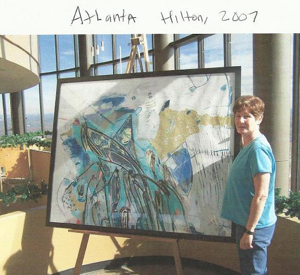 Atlanta pic od Susie and art by Susan Harmon