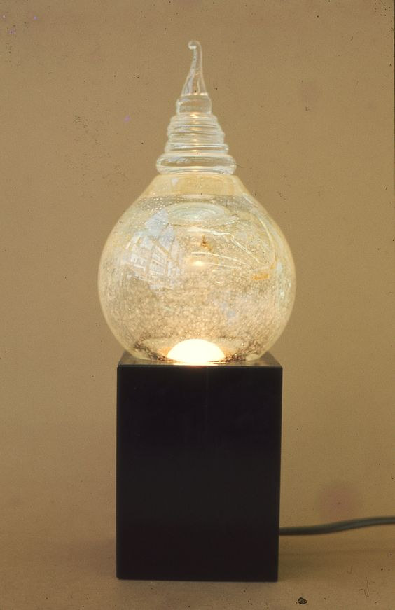 Blown Lamp by Gordon Sellen