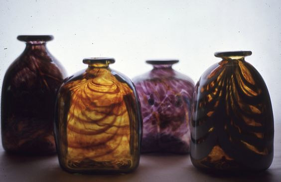 Blown Bottles by Gordon Sellen