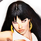 Vampirella-Fig Color pencil-MD by Steve Ferris