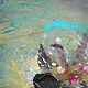 Acrylic painting Saxophone Player  by Erin Burge
