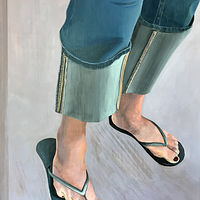"Acrylic painting ""Dancer's Feet"" by Brad Nuorala"