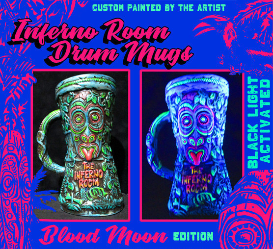 Painting Blood Moon edition by Kenneth M Ruzic