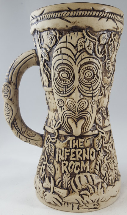 Drawing Inferno Room drum mug by Kenneth M Ruzic