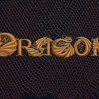 Print Custom Six Dragon Letters by Sue Ellen Brown