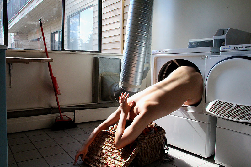 Photography Redemption On Laundry Day - Dried by Sidi Chen