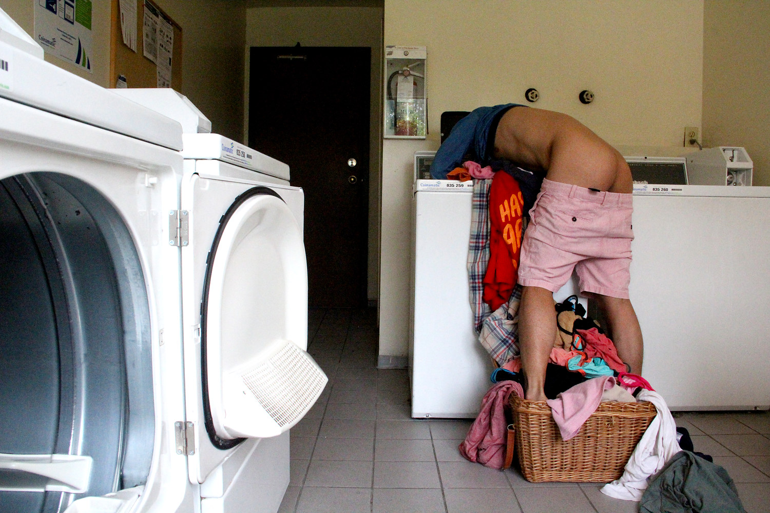Photography Redemption On Laundry Day - Washing by Sidi Chen