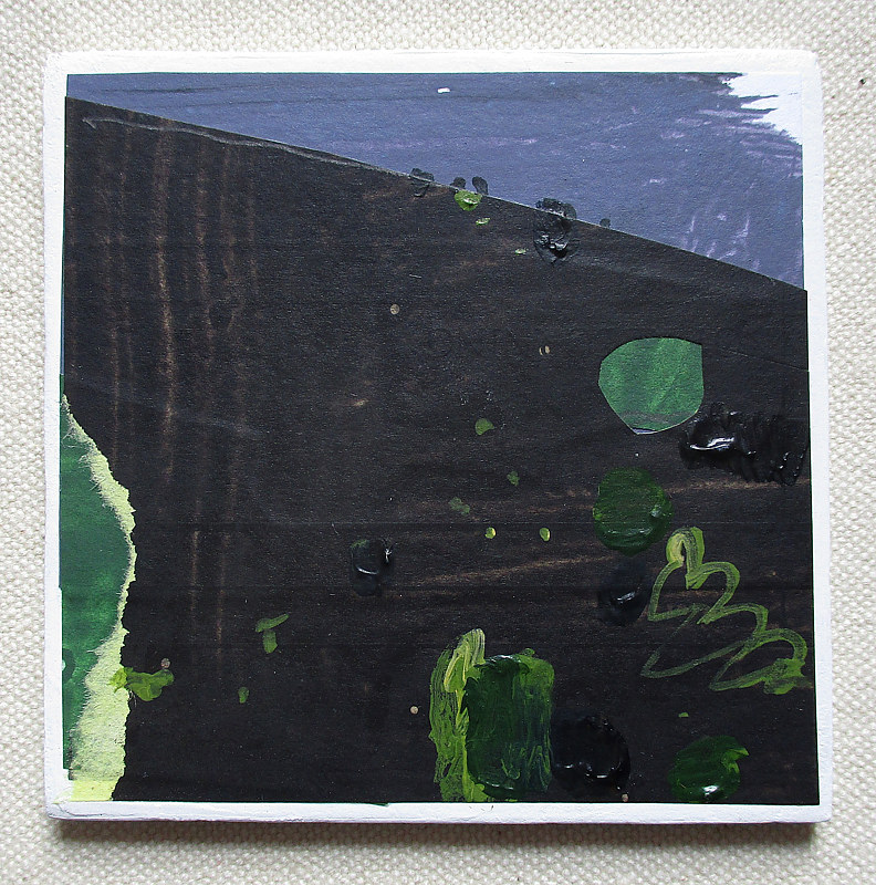 Acrylic painting RESERVED FOR ALISON K., Night Grow    by Harry Stooshinoff