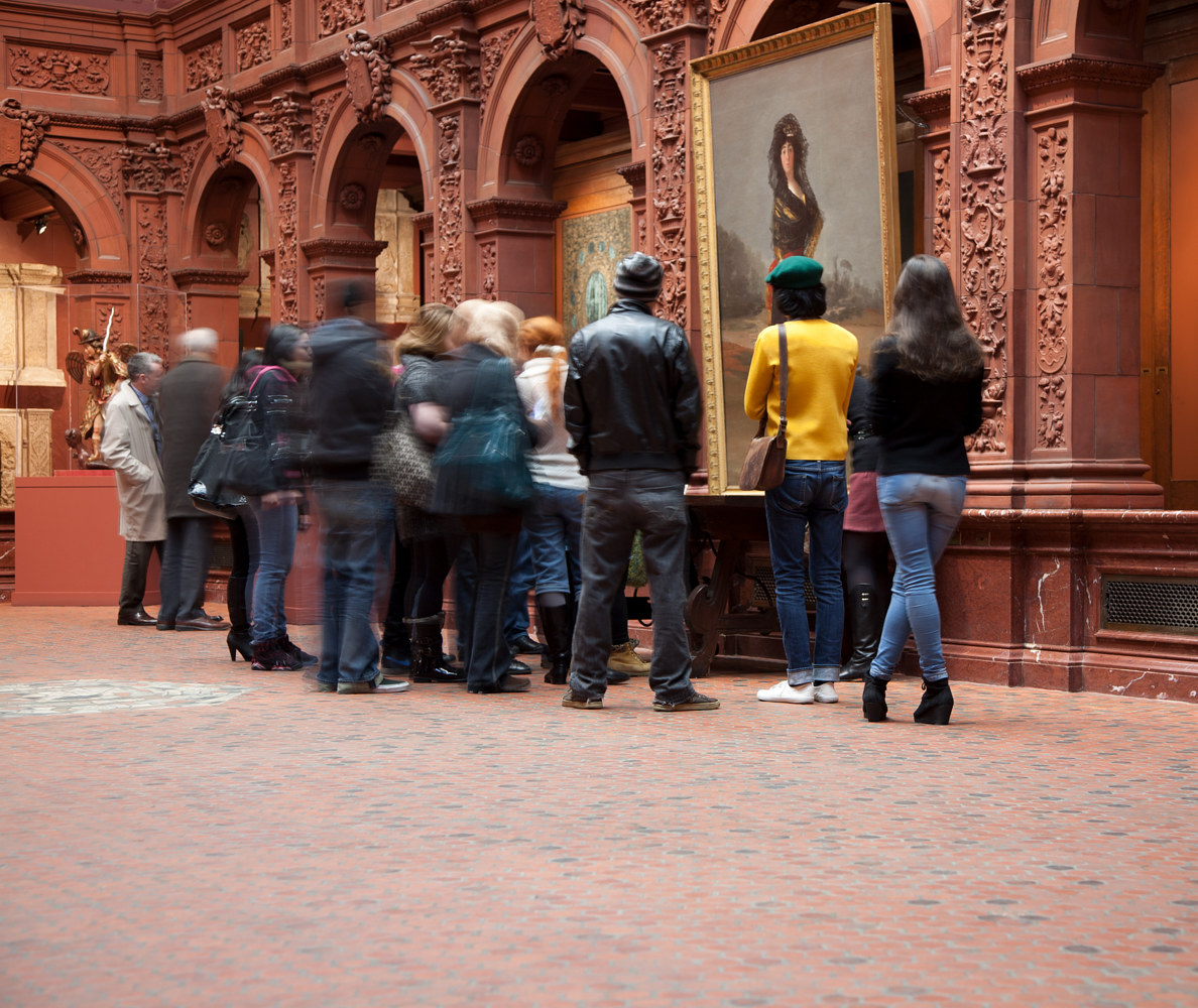 Visitors. Hispanic Society of America. New York, NY, USA. (2012) by Mike Steinhauer