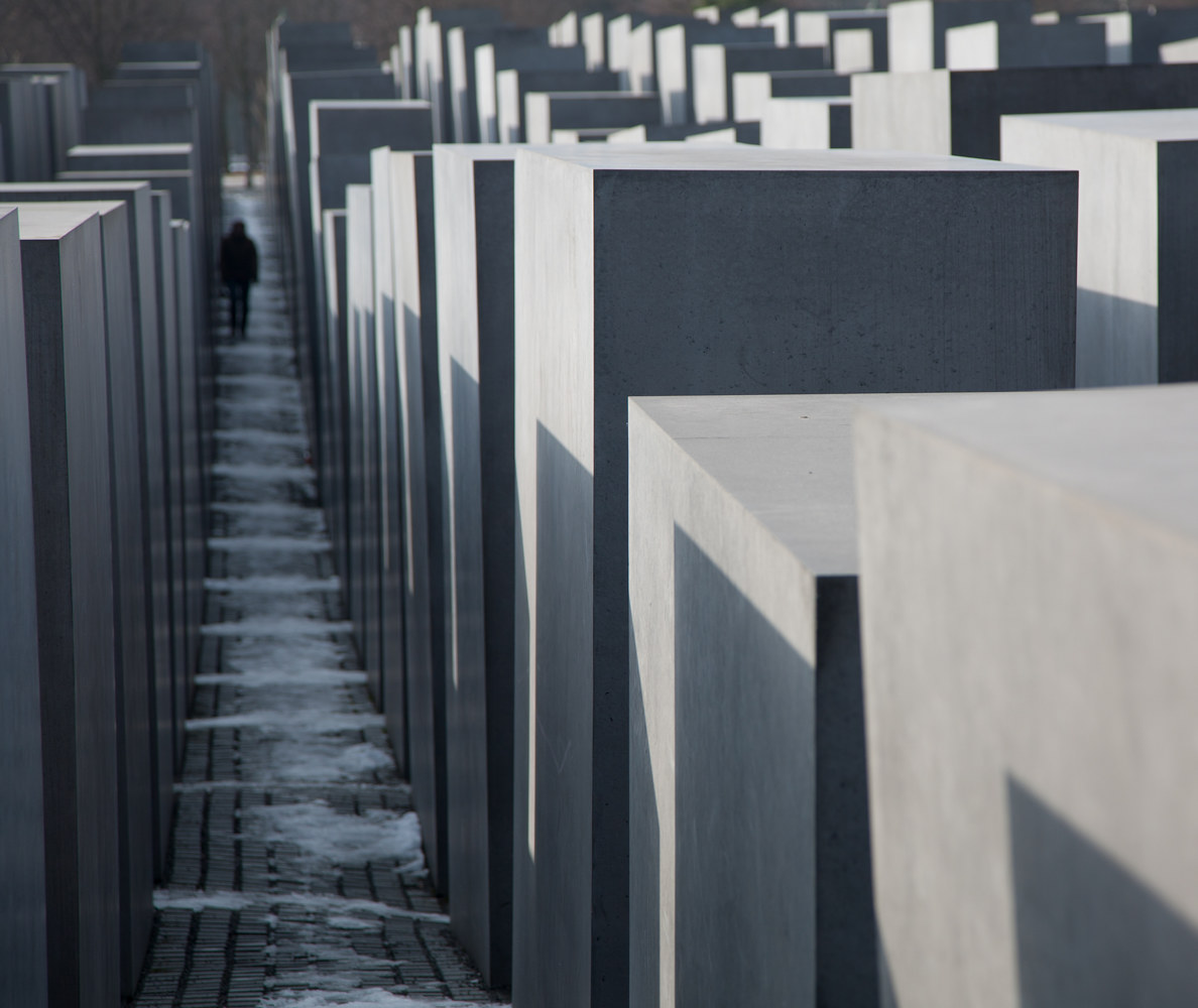 Observer. Memorial to the Murdered Jews of Europe. Berlin, Germany. (2009)  by Mike Steinhauer