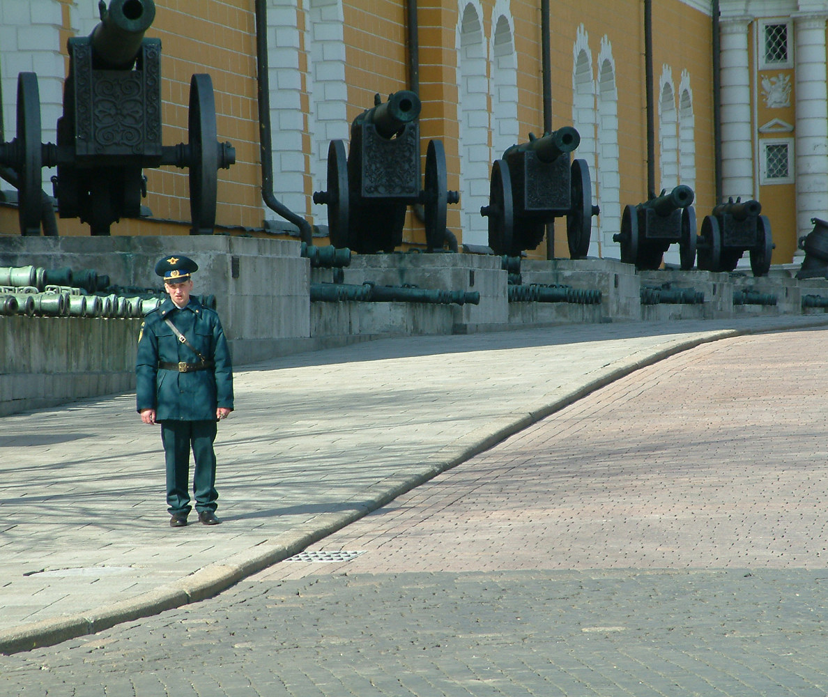 Guard. Kremlin. Moscow, Russia. (2006) by Mike Steinhauer