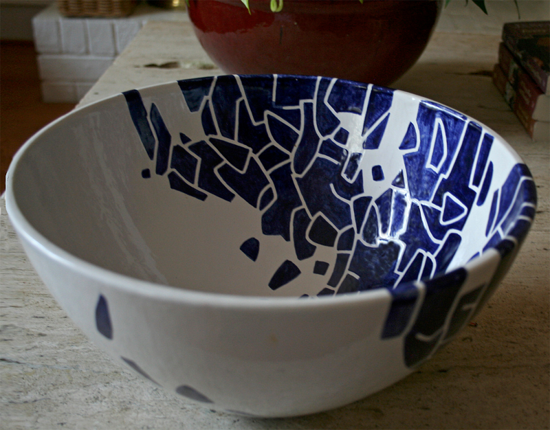 Bowl Blue and White 2 .psd by Pedro Gonzalez
