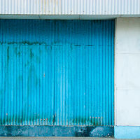Corrugated Blue by Robert Easton