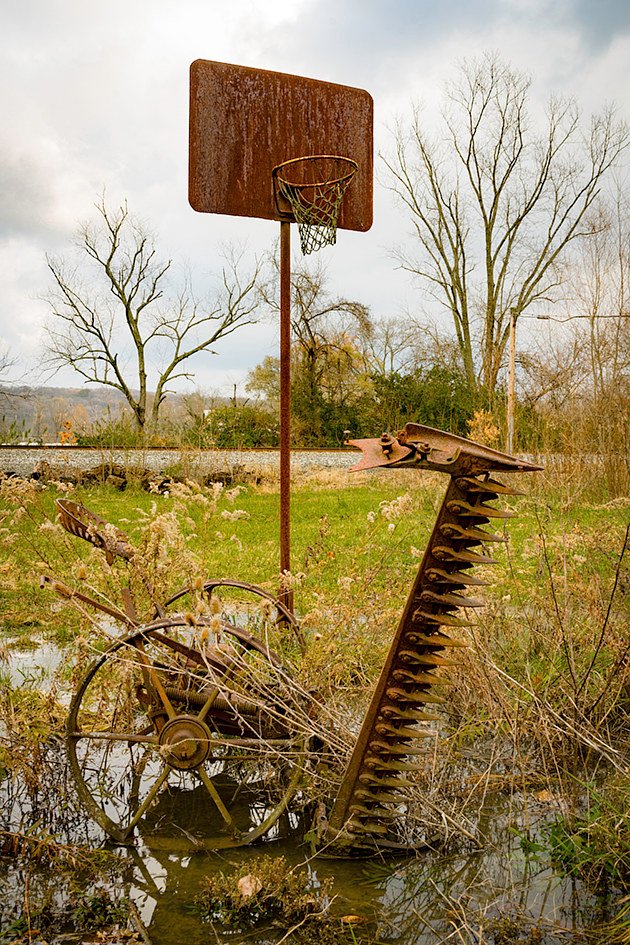 Ballin Near Silver Grove, OH 11-18 _DSC0133 by Theodore Diamond