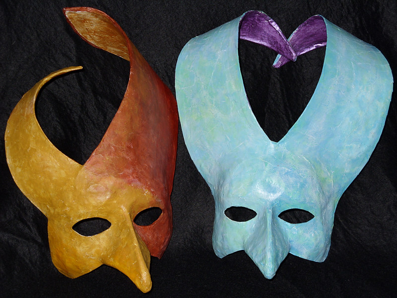 Masks - Wearable Face Mask 1 by Pamela Schuller