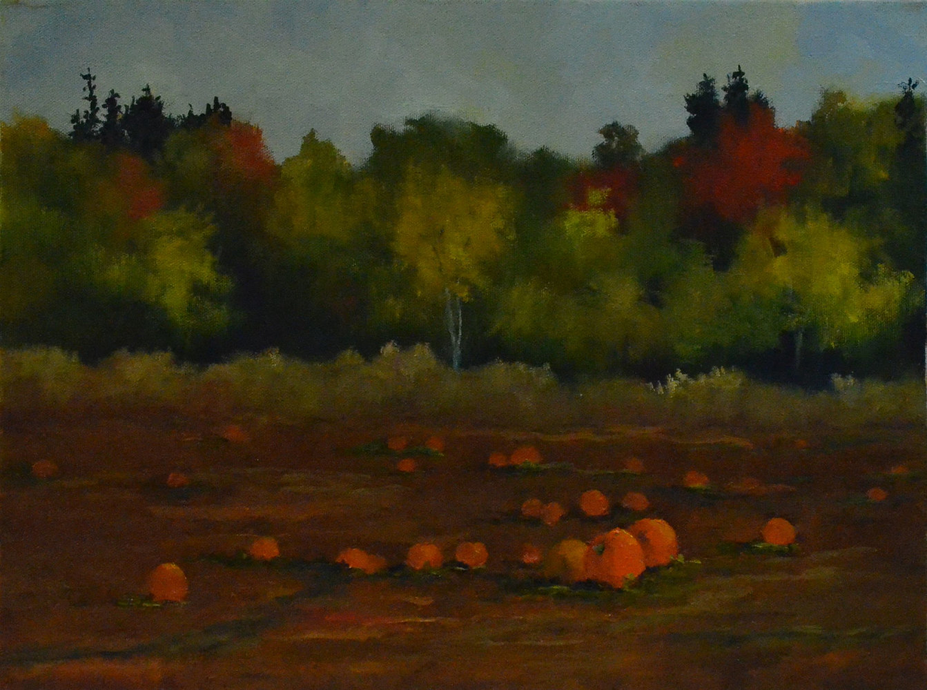 Harvest - 12 x 16, oil on canvas - 33-1118 by Patricia Savoie