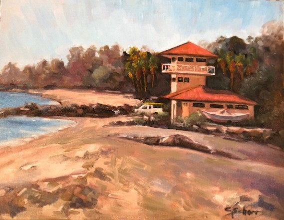 Dana Point Life Guard Station by connie scherr
