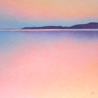 Acrylic painting November Light Camano  by Anne Popperwell