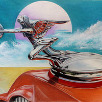 Drawing Goddess of Speed by David Neace