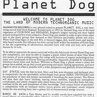 Planet Dog by Robert Shea