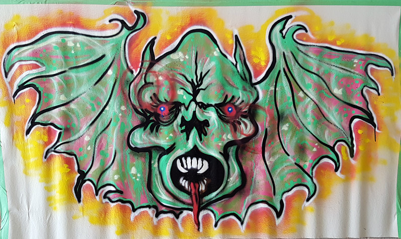 vampire.graffiti by Dylan Humphreys