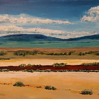Acrylic painting US24- Colorado by Steve Latimer