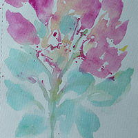 Watercolor Spring  by Gwenda Branjerdporn