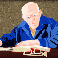 Eric Hoffer by Phil Cummings