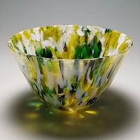 Color Drop, Kilnformed Glass by Claudia Whitten