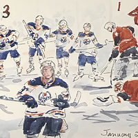 Moments...Hockey 2019 by Wanda Hawse