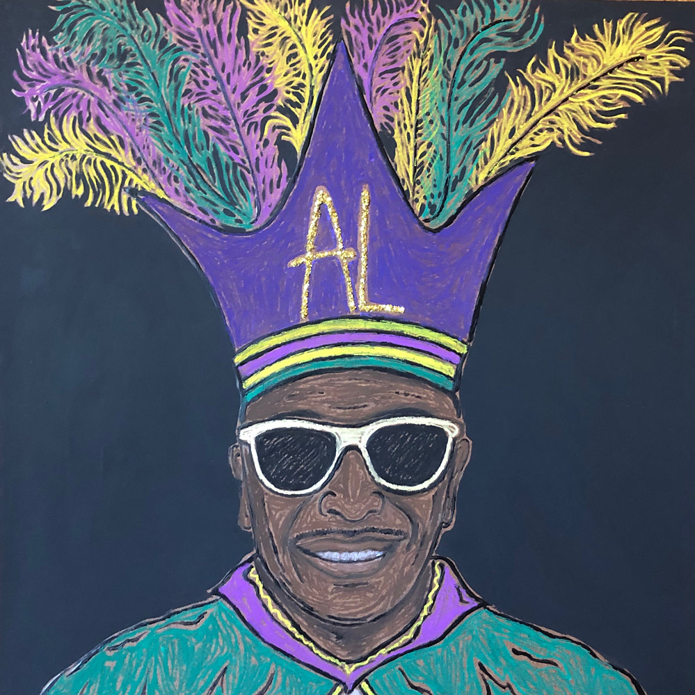 Print Al _Carnival Time_ Johnson by Kelly Schafer