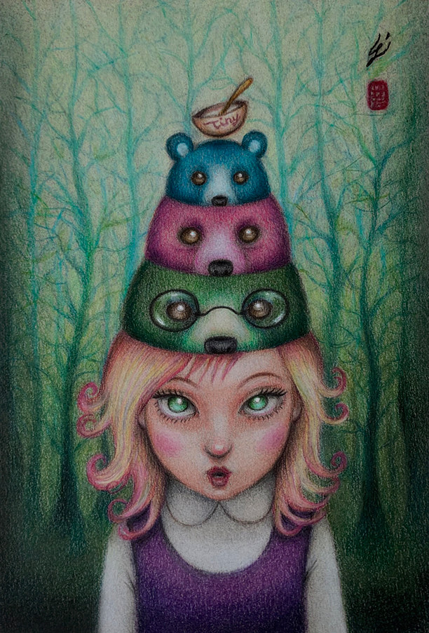 Drawing Bear in Mind by Carolina Seth