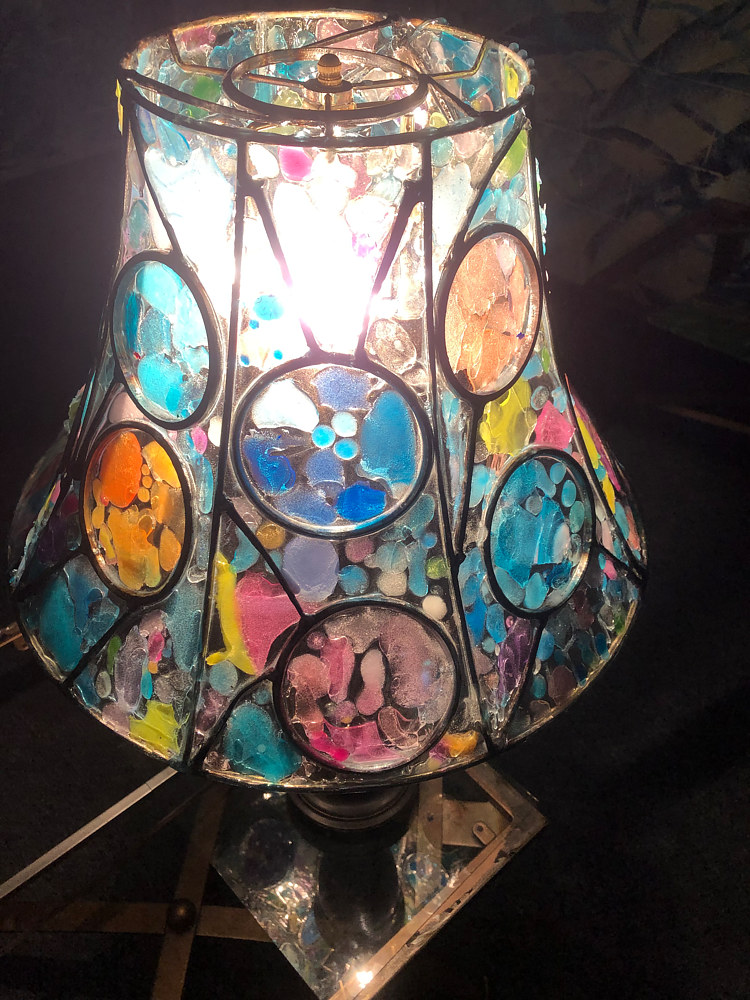Lampshade Redux #3 (with light 2) by Steven Simmons