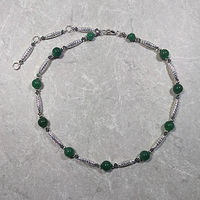 'Simplicity', Aventurine gemstone with silver by Sue Ellen Brown