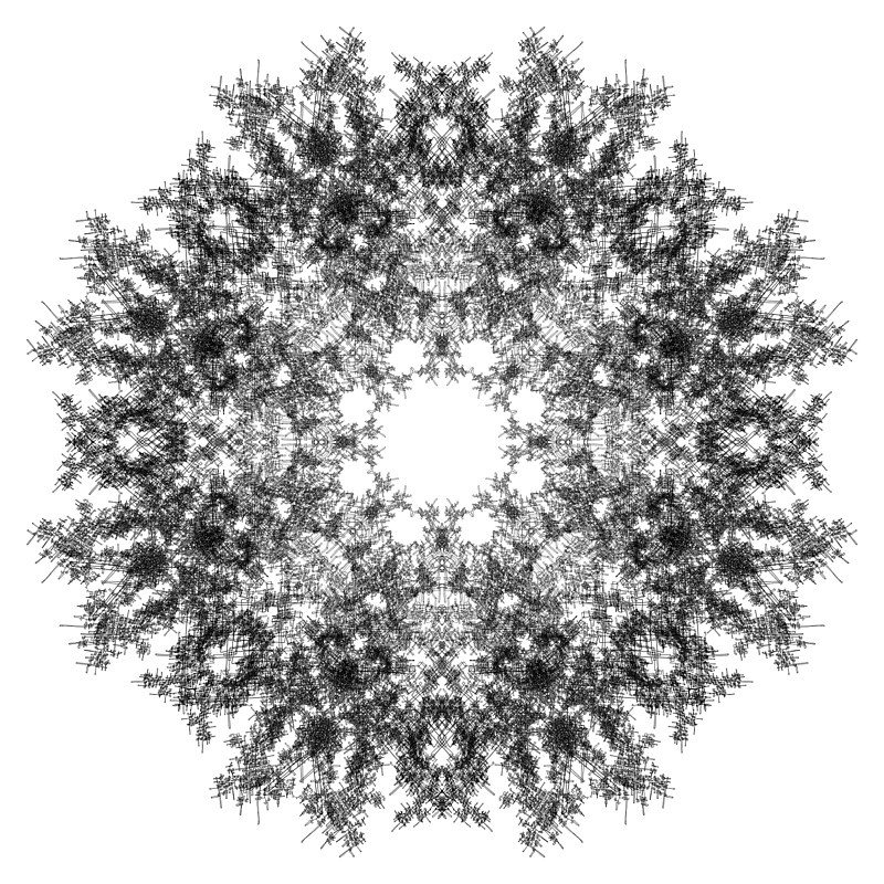 Print Hovig 18441 Mandala from Form (1800x1800) by John Hovig