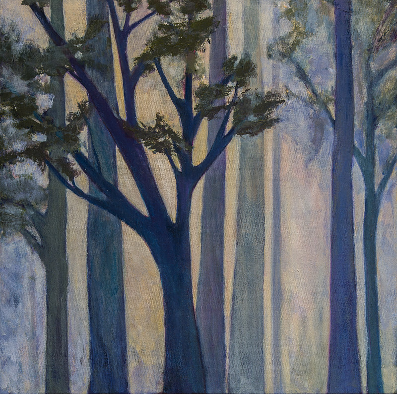 "Acrylic painting ""King's Forrest"" by Carol Ross"