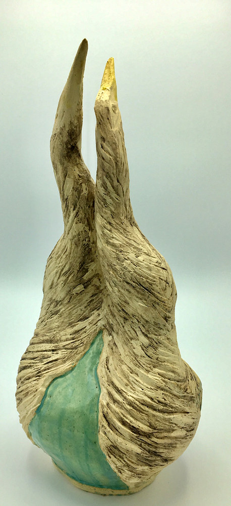 Double Bird Vase by Sharon V Smith
