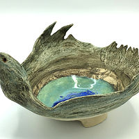 Bird Bowl by Sharon V Smith