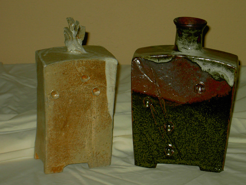 Chinese Whisky Bottles  by Jack Caselles