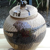 "15"" Ginger Jar   by Jack Caselles"