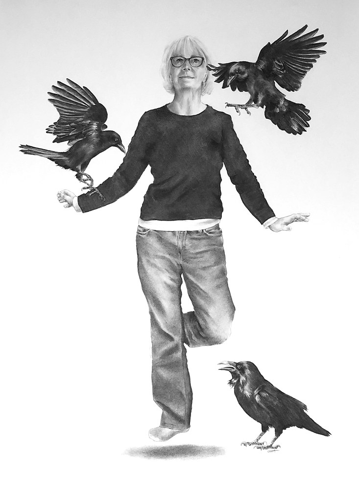 Drawing The Flying Lesson by Ellen Cornett