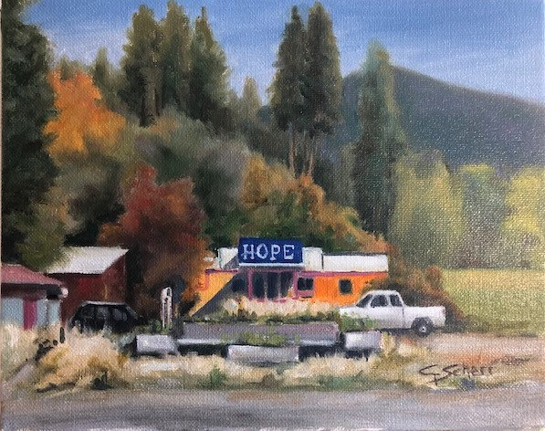 Hope Market by connie scherr