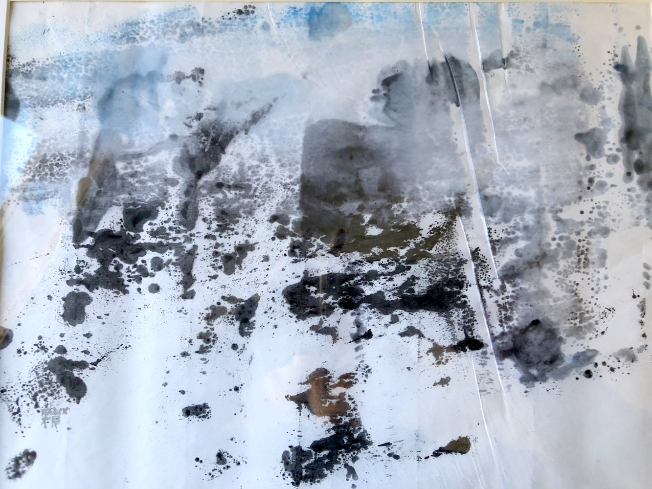 Print Glacial Study by Catherine Mansell