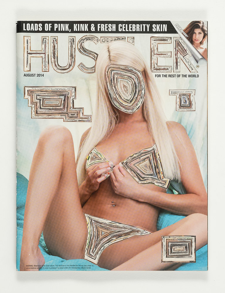 Sculpture Rejected: Hustler Magazine  by Emma Lehto
